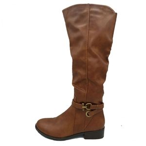 Apt 9 defined comfort brown tall riding boots